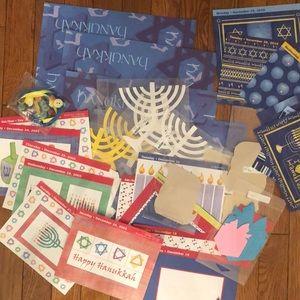 Hanukkah Scrapbook/Card Making/Crafting Items